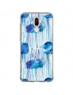 Coque Huawei Mate 10 Lite Rain Stitches Neon - Ninola Design