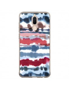 Coque Huawei Mate 10 Lite Smoky Marble Watercolor Dark - Ninola Design
