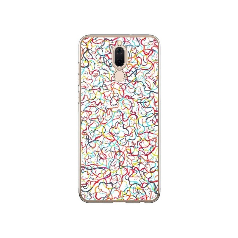 Coque Huawei Mate 10 Lite Water Drawings White - Ninola Design