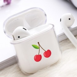 Coque AirPods Cerise