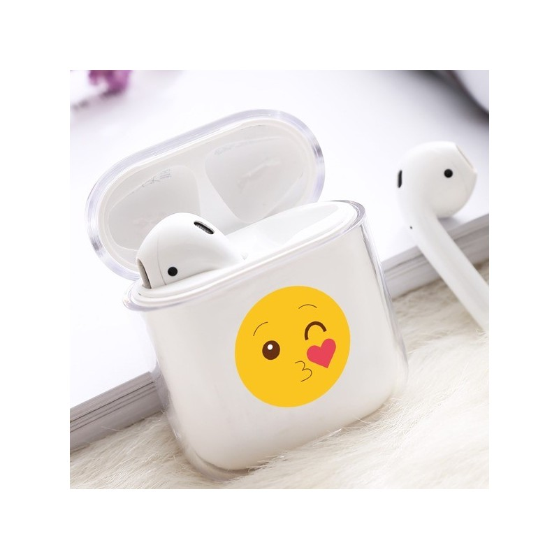 Coque AirPods Smiley Bisous
