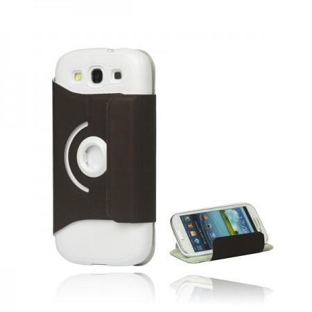 Coque Rotative 360 en Cuir pour Samsung Galaxy S3
