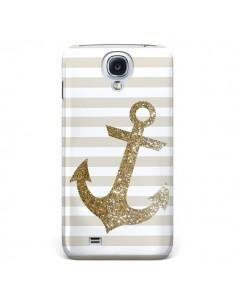 Coque Ancre Or Navire pour Samsung Galaxy S4 - Monica Martinez