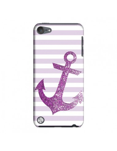Coque Ancre Rose Navire pour iPod Touch 5 - Monica Martinez