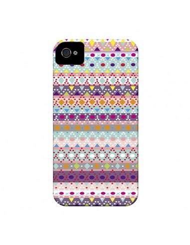 Coque Ayasha Azteque pour iPhone 4 et 4S - Monica Martinez