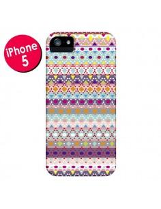 Coque Ayasha Azteque pour iPhone 5 et 5S - Monica Martinez