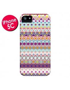 Coque Ayasha Azteque pour iPhone 5C - Monica Martinez