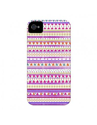 Coque Bandana Rose Azteque pour iPhone 4 et 4S - Monica Martinez