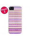 Coque Bandana Rose Azteque pour iPhone 5 et 5S - Monica Martinez