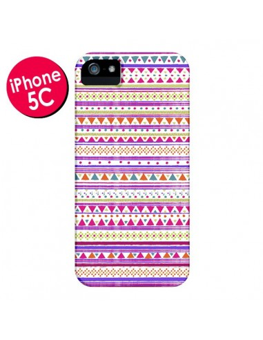 Coque Bandana Rose Azteque pour iPhone 5C - Monica Martinez