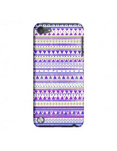 Coque Bandana Violet Azteque pour iPod Touch 5 - Monica Martinez
