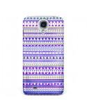 Coque Bandana Violet Azteque pour Samsung Galaxy S4 - Monica Martinez