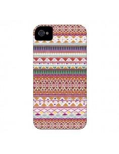 Coque Chenoa Azteque pour iPhone 4 et 4S - Monica Martinez