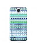 Coque Chenoa Bleu Azteque pour Samsung Galaxy S4 - Monica Martinez