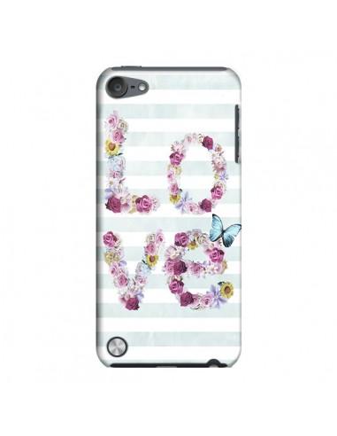 Coque Love Fleurs Flower pour iPod Touch 5 - Monica Martinez