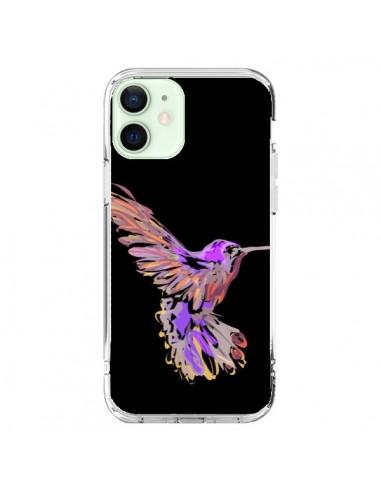 Coque iPhone 12 Mini Blue Bird - AlekSia