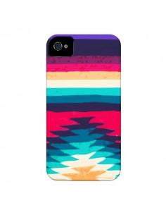 Coque Surf Azteque pour iPhone 4 et 4S - Monica Martinez