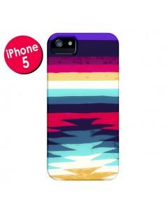 Coque Surf Azteque pour iPhone 5 et 5S - Monica Martinez