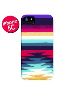 Coque Surf Azteque pour iPhone 5C - Monica Martinez