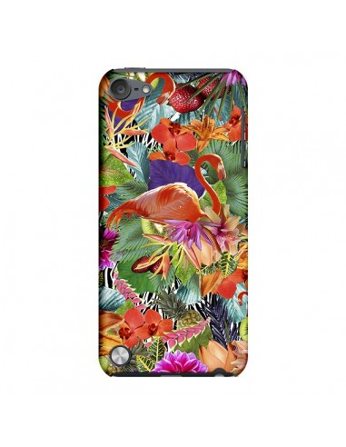 Coque Tropical Flamant Rose pour iPod Touch 5 - Monica Martinez