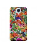 Coque Tropical Flamant Rose pour Samsung Galaxy S4 - Monica Martinez