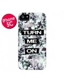 Coque Turn Me On Flower pour iPhone 5C - Monica Martinez
