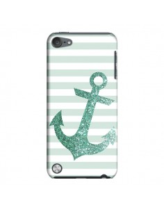 Coque Ancre Vert Navire pour iPod Touch 5 - Monica Martinez