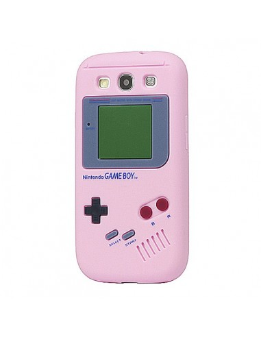 Coque Game Boy en Silicone pour Samsung Galaxy S3