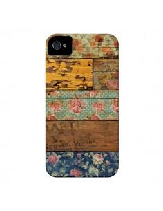 Coque Barocco Style Bois pour iPhone 4 et 4S - Maximilian San