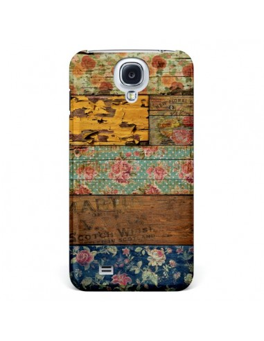 Coque Barocco Style Bois pour Samsung Galaxy S4 - Maximilian San