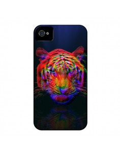 Coque Tigre Beautiful Aberration pour iPhone 4 et 4S - Maximilian San