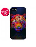 Coque Tigre Beautiful Aberration pour iPhone 5C - Maximilian San