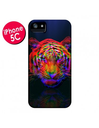 Coque Tigre Beautiful Aberration pour iPhone 5C - Maximilian San