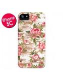Coque Eco Love Pattern Bois Fleur pour iPhone 5C - Maximilian San