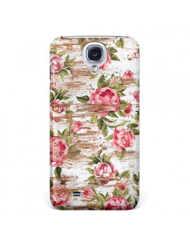 Coque Eco Love Pattern Bois Fleur pour Samsung Galaxy S4 - Maximilian San