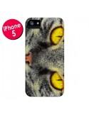 Coque Chat Gato Loco pour iPhone 5 et 5S - Maximilian San