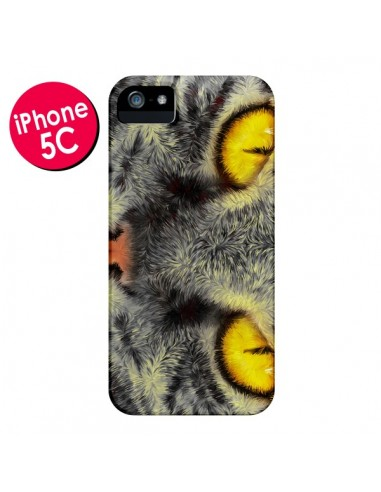 Coque Chat Gato Loco pour iPhone 5C - Maximilian San