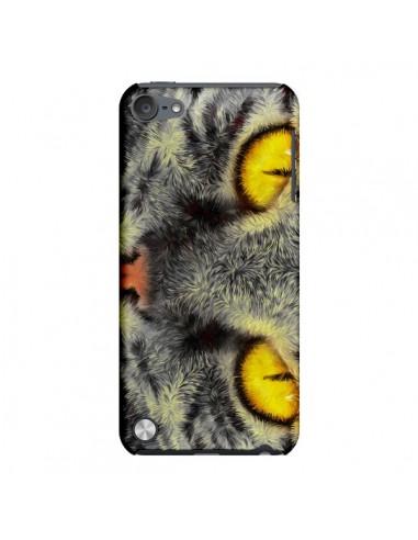 Coque Chat Gato Loco pour iPod Touch 5 - Maximilian San