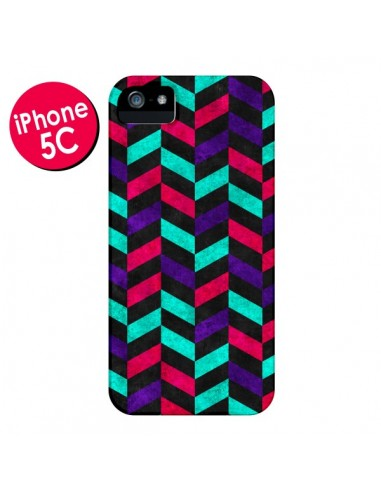 Coque Azteque Geometric Mundo pour iPhone 5C - Maximilian San