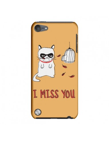 Coque Chat I Miss You pour iPod Touch 5 - Maximilian San