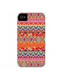 Coque India Style Pattern Bois Azteque pour iPhone 4 et 4S - Maximilian San