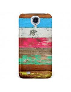 Coque Eco Fashion Bois pour Samsung Galaxy S4 - Maximilian San