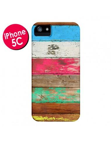 Coque Eco Fashion Bois pour iPhone 5C - Maximilian San