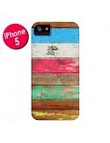 Coque Eco Fashion Bois pour iPhone 5 et 5S - Maximilian San