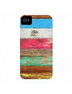 Coque Eco Fashion Bois pour iPhone 4 et 4S - Maximilian San