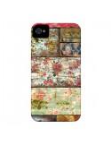 Coque Lady Rococo Bois Fleur pour iPhone 4 et 4S - Maximilian San