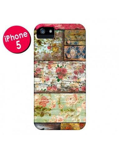 Coque Lady Rococo Bois Fleur pour iPhone 5 et 5S - Maximilian San