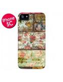 Coque Lady Rococo Bois Fleur pour iPhone 5C - Maximilian San