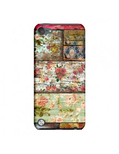 Coque Lady Rococo Bois Fleur pour iPod Touch 5 - Maximilian San