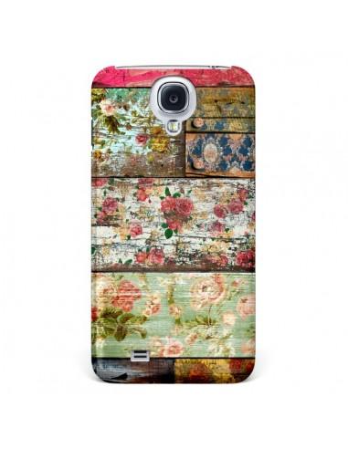 Coque Lady Rococo Bois Fleur pour Samsung Galaxy S4 - Maximilian San